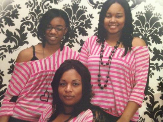 Tina Taylor and family