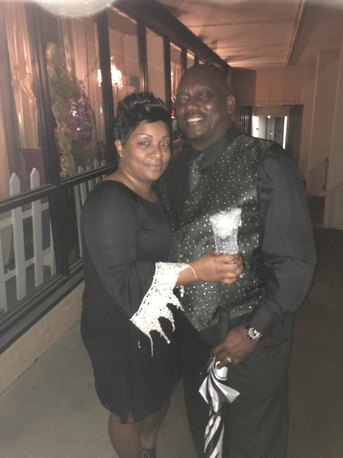 Tina Taylor and husband