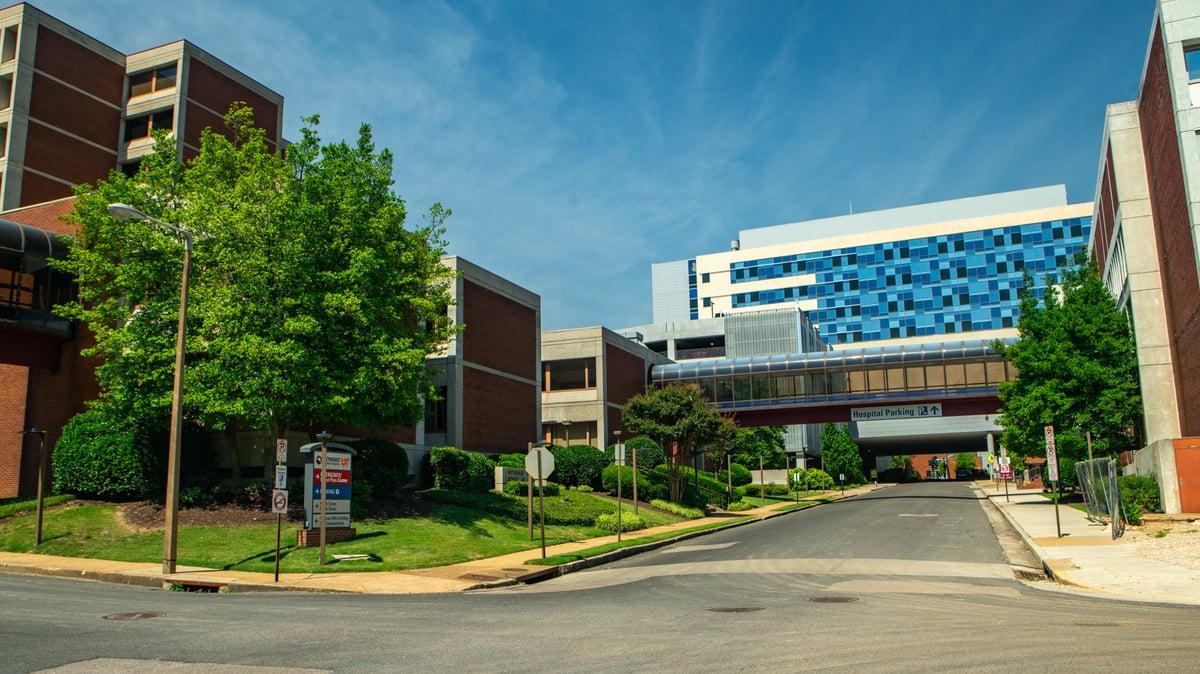 methodist university hospital commercial landscape maintenance