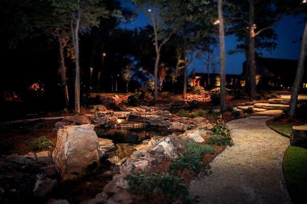 Add Outdoor Lighting to a Patio Area