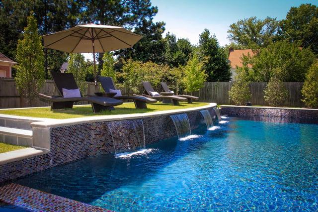 custom pool built by Michael Hatcher