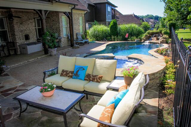 Memphis pool builders gunite pool contractor - Swimming pool companies in memphis tn ...