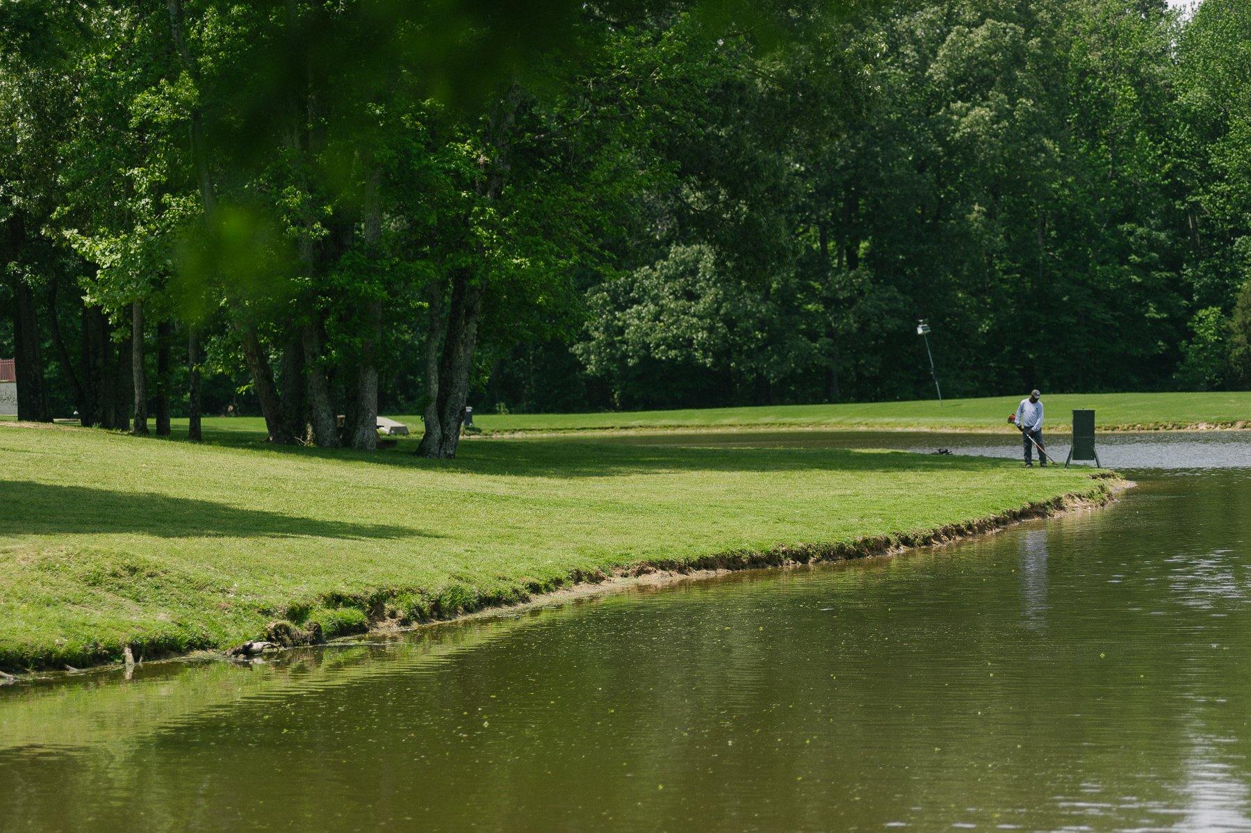 Commercial pond maintenance