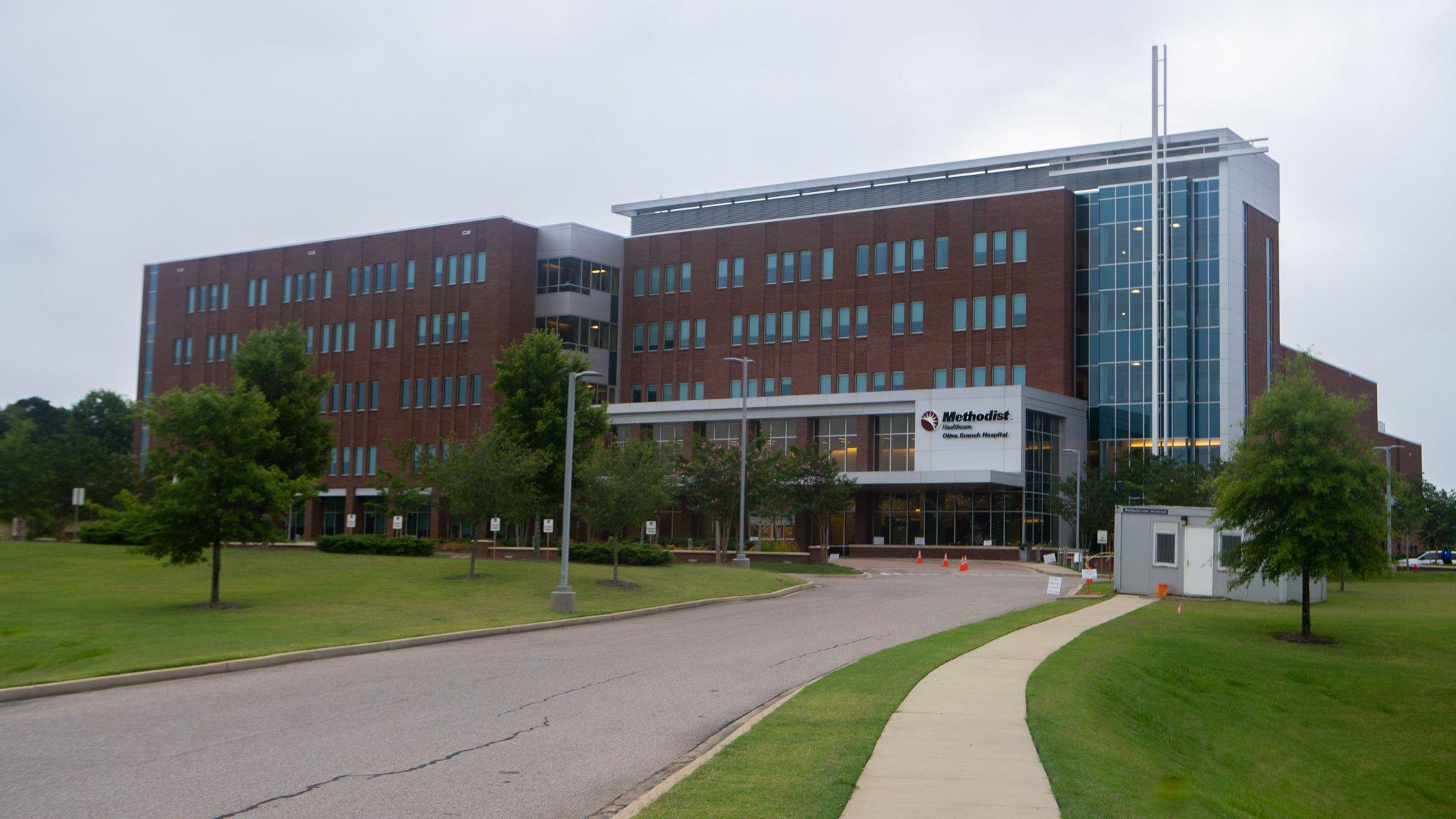 Methodist Hospital  landscaping