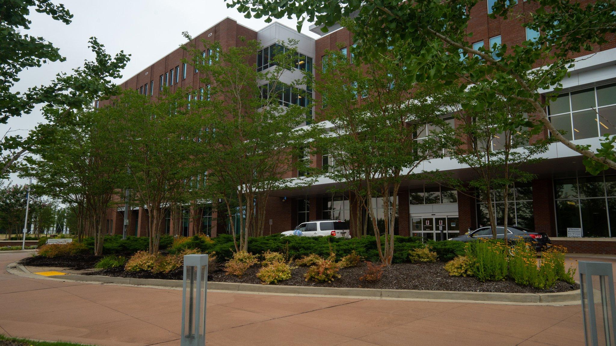 Methodist Olive Branch Hospital plantings