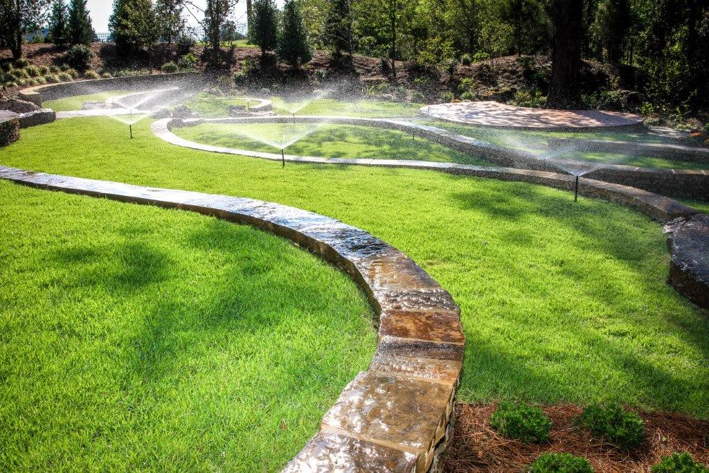 commercial property irrigation system