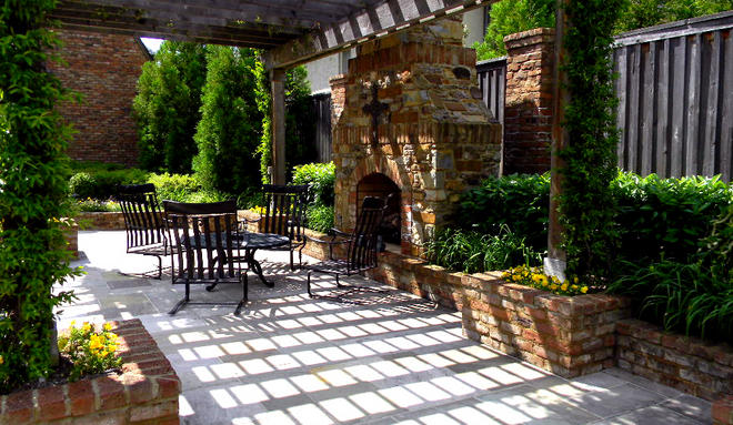 What Does It Cost To Add Outdoor Lighting To A Fireplace And Patio Area?