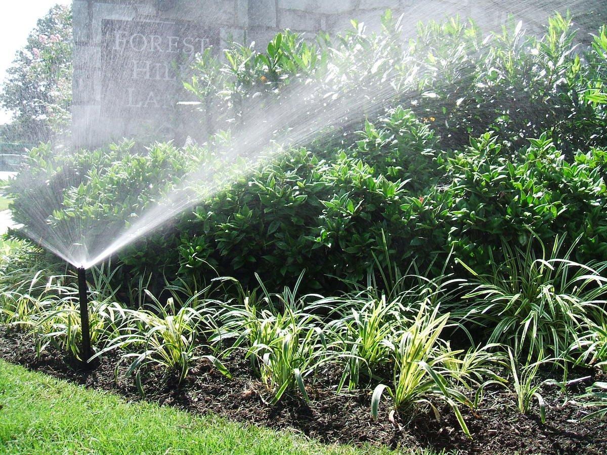 regular irrigation maintenance is important