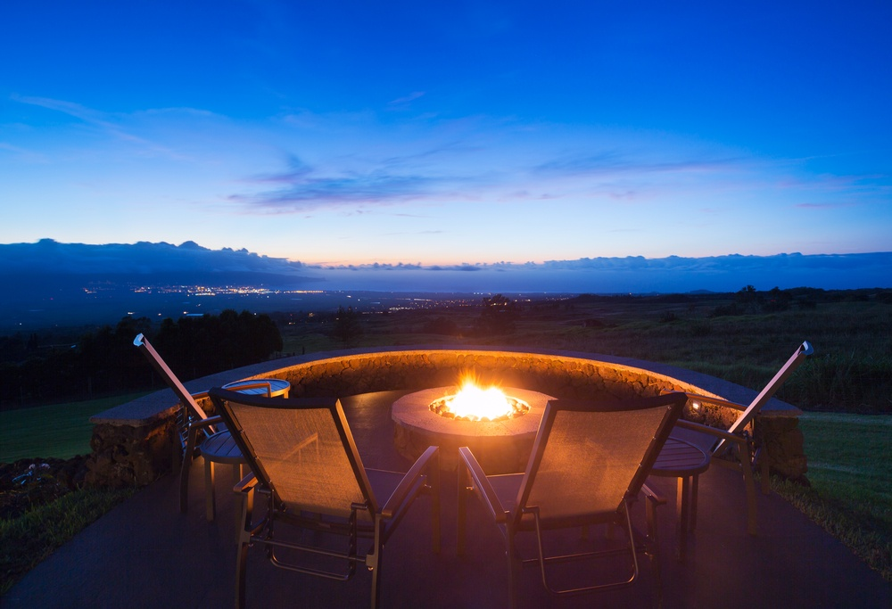Create a Relaxing Oasis with a Fire Pit