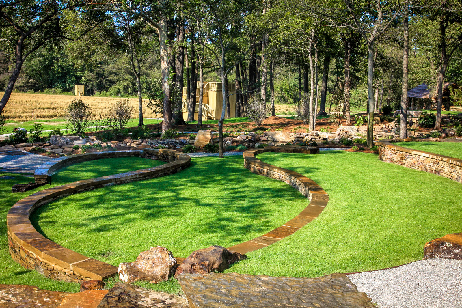 Natural landscape amphitheater michael hatcher for Natural landscape design