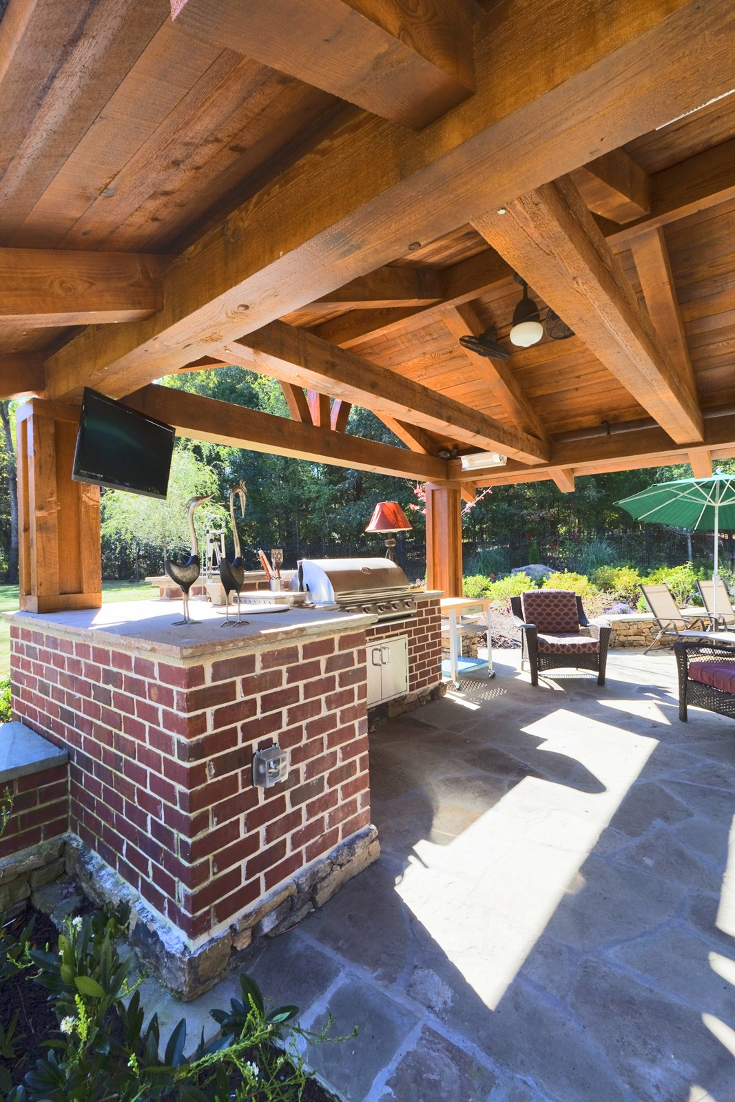 How Much Does It Cost to Design and Build an Outdoor Kitchen? on Cost Of Backyard Remodel id=51111