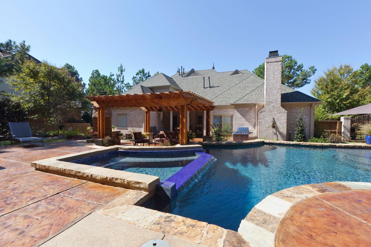 Relaxing Pool & Spa