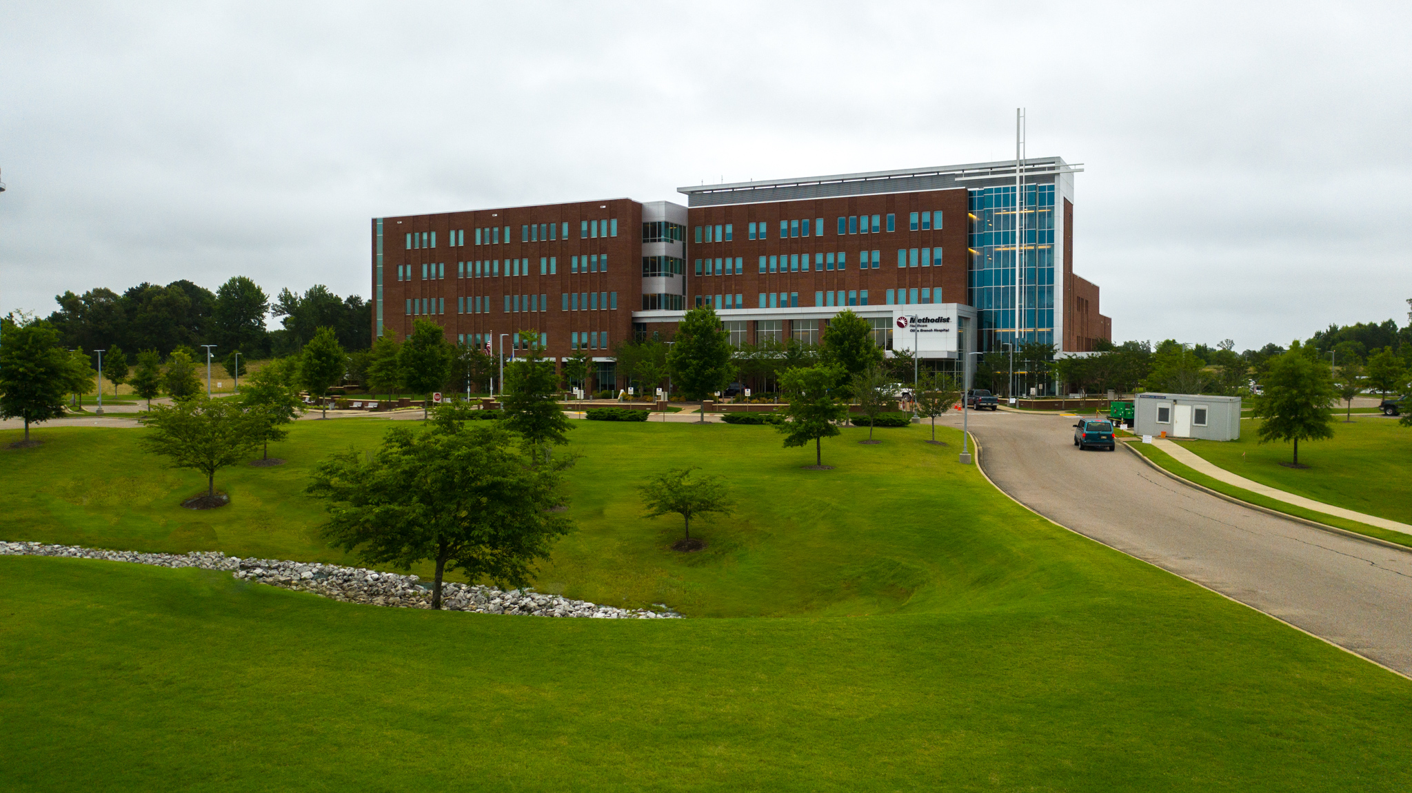 Methodist Olive Branch Hospital Landscape