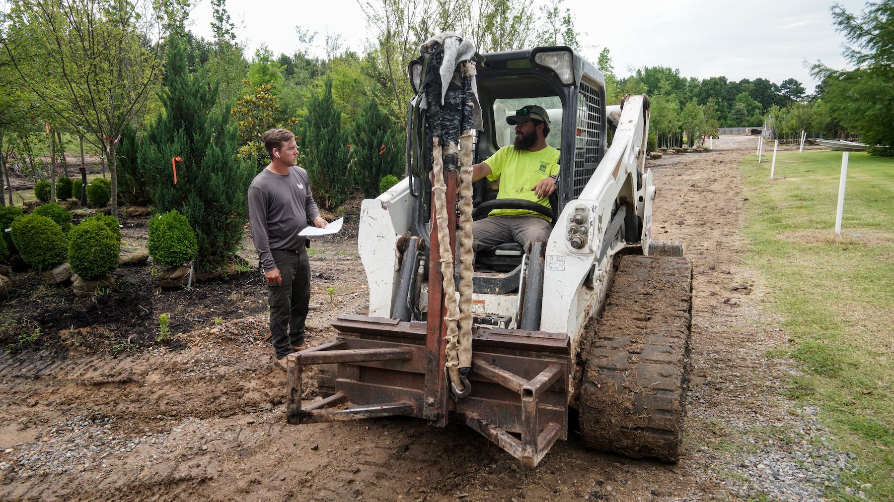 Landscape Construction Crew Member
